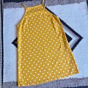Abound Yellow Linen Dress